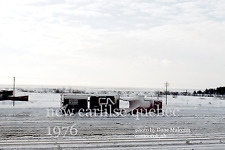 Canadian National Rwy     New Carlilse station Quebec 1976   Gaspe Peninsula 4