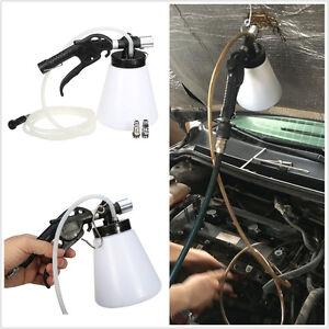 Capacity Tank 1L Car Van SUV Brake Bleeder Bleeding Fluid Change Kit 90-120 Psi