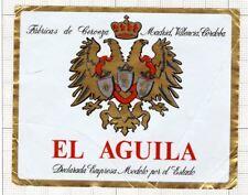 SPAIN Fabrica de Cerveza EL AGUILA - beer label C1680