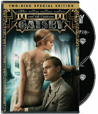 The Great Gatsby 2-disc Special edition starring Leonardo DiCaprio DVD