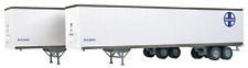 WALTHERS HO 1/87 SCALE SANTA FE 45' STOUGHTON TRAILERS 2-PACK # 949-2254 F/S