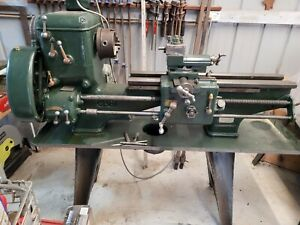 metal lathe used 3 Jaw chuck 6 inch centre height 800mm bed length