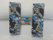 Batman Cartoon Blue - Child Seat Belt Kids Strap Covers Highchair Stroller Pram