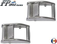 Boucle inox Pour Sangle 25 mm ( Lot de 2 ) inox 316 - A4