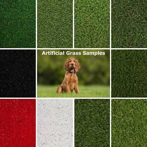 Artificial Grass Samples 2m 4m 5m Fake Grass Cheap Budget Astro Turf 30mm 40mm
