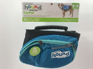 New Dogs Outward Hound, Lightweight Dog Backpack, Blue, Size Medium