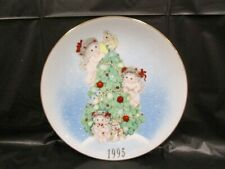 """Dreamsicles """" The Finishing Touches """" Christmes Plate - Numbered"""