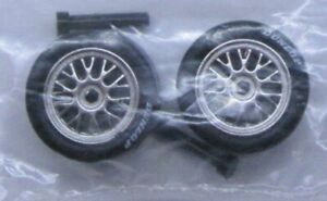 1/32 -FRONT AXLES, TIRES & WHEELS for FLY VIPER-OR SCRATCH BUILDING