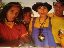 """Ziggy Marley -""""Look Who's Dancing""""  7"""" (1989) EX  Limited Edition Poster Sleeve"""