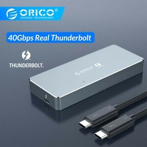 ORICO Thunderbolt3 NVME M.2SSD Enclosure Support 2TB Aluminum Type-C with 40Gbps