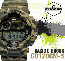 Casio G-Shock Brown Design Camouflage Series Watch GD120CM-5D AU FAST & FREE