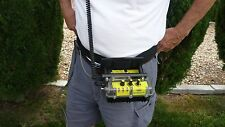 "Plugger's 46"" Deluxe Hip Mount Belt for Whites PI and Beach Hunter ID Detectors"