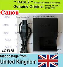 Genuine Original Canon Lc-e17e Lc-e17 Charger for Battery Lp-e17 Lpe17 EOS 750d