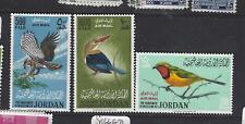 JORDAN  (P2909B)  BIRDS A/M  SG 627-9    MNH   SCARCE
