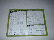 TOYOTA LAND CRUISER DIESEL SERVICE DATA SHEET. FEB 1998.
