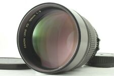 {ALMOST MINT} CANON New FD 135mm F/2 NFD MF Lens Telephoto Case from JAPAN 615u
