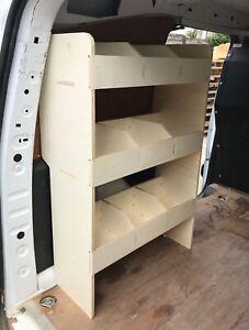 Vauxhall Combo SWB 2011-2018 Van Racking Tool Storage Organiser Shelving