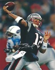 TOM BRADY #1 REPRINT AUTOGRAPHED SIGNED PICTURE PHOTO RP NEW ENGLAND PATRIOTS