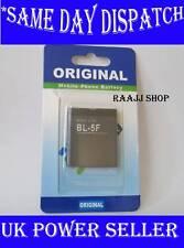 NEW HIGH QUALITY BL-5F BATTERY FOR NOKIA 6290 6210 E65 N93i N95 SILVER N96