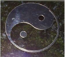 Ying Yang sticker decal chrome