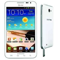 UNLOCKED! AT&T Samsung Galaxy Note SGH-I717 16GB White 4G LTE Android Smartphone