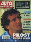 AUTO HEBDO n°880 du 12 Mai 1993 GP ESPAGNE CLIO WILLIAMS