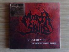 MORTA SKULD - RE-SURFACE…THE BEST OF - CD DIGIPAK SIGILLATO (SEALED)