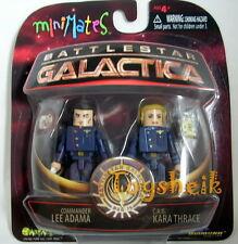Battlestar Galactica Minimates Adama & Kara 60159