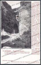 SIRACUSA CITTÀ Cartolina 15. Serie CASA DEI VIAGGIATORI