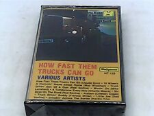 How Fast Them Trucks Can Go - Various Artists - Cassette - SEALED