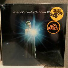"BARBRA STREISAND - A Christmas Album (CS 9557) - 12"" Vinyl Record LP - SEALED"
