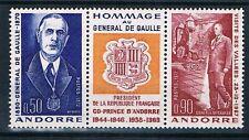 A1268 - ANDORRE - Timbre N° 225 A Neuf** Général de Gaulle