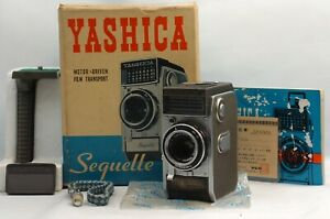 @ Ship In 24 Hrs @ Rare Camera in Box! @ Yashica Sequelle 35mm Half Frame Camera