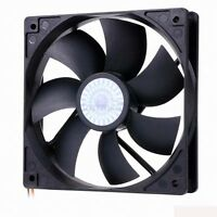 """GENUINE"" Premium 120mm 25mm NEW CASE FAN 12V COOLERMASTER SLEEVE FAN -Freeship"