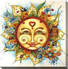 Sun Bead embroidery kit DIY Handcraft Bead pattern Beading Needlepoint Decor