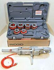 "Ridgid 700 Pipe Threader W/Set Of 12R Dies & ""New"" Plastic Case (100% Tested)"