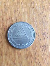 New listing Nicaragua 1 Cordoba, 1997 Nickel Clad Steel Coin