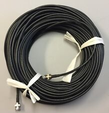 150ft BNC Male-Male Black RG-59 75 Ohm HD-CVI,HD-TVI,HD-SDI,HDTV Video Cable