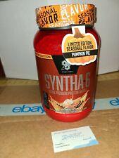 BSN Syntha-6 Ultra Premium Protein 2.91 lb Pumpkin Pie Exp 07/2020