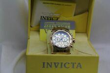 Invicta Pro Diver Scuba Gold Plated Chronograph 48mm Watch New