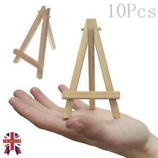 Mini Wooden 5 Artist Easel for Artwork Display Table Settings Set Craft Art 7 3