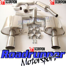 Scorpion Mondeo 2.5 Turbo Stainless Exhaust System Cat Back & De Cat 07-11 Hatch