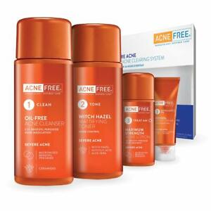 AcneFree 24Hr Severe Acne Clearing System Kit UK Seller