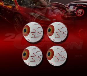 4X 3D EYE BALL INTERIOR EXTERIOR EMBLEM FOR G37 350Z 370Z ALTIMA FRONTIER TITAN