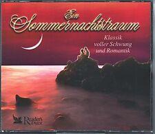 Ein Sommernachtstraum - Klassik voller Schwung ...-  Reader's Digest   4 CD BOX