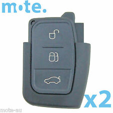 2 x Ford Mondeo FG BF Falcon Remote Flip Key Replacement Shell/Case/Enclosure