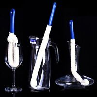 Stemware Soft Flask Decanter Bendable Tool Cleaner Cleaning Brush Wine Glass