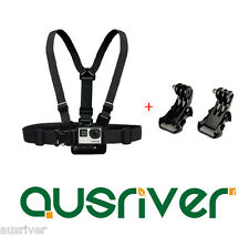Chest Mount Harness Strap Belt for GoPro HD Hero 4 3+ 3 2 Accessories