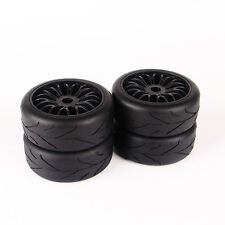 4x103mm 17mm Hex RC 1:8 Rubber Buggy Tire Wheel Rims For Racing Traxxas On-Road