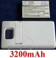 Custodia Bianco + Batteria 3200mAh tipo EB-F1A2GBU Per SAMSUNG Galaxy S II